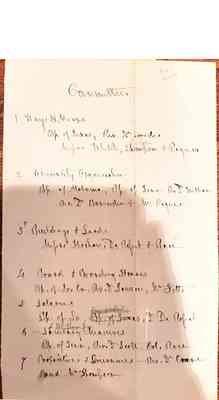Vault Early Papers of the University Box 2 Document 2