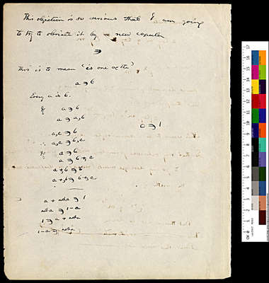 Logic Notebook 1867-1880