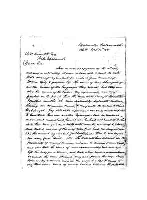 XM113_ICDMS_lowres Letter from ALP Cameron 13 November 1881