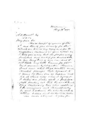 XM119_ICDMS_lowres Letter from ALP Cameron 10 August 1882