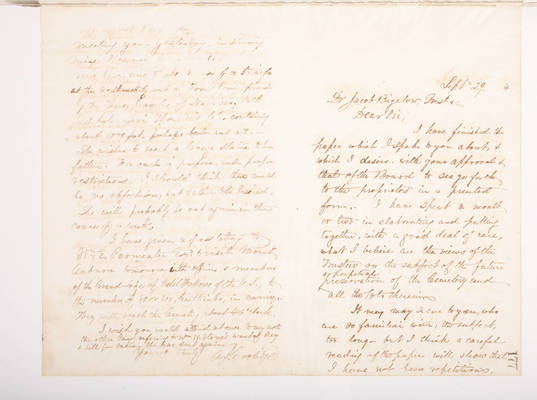 1860 Copying Book: Secretary's Letters and Treasurer's Letters, 2005.062.003