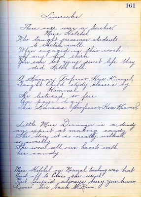 Summer School Diary, part 3E - 1914