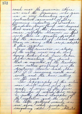Summer School Diary, part 3F - 1914