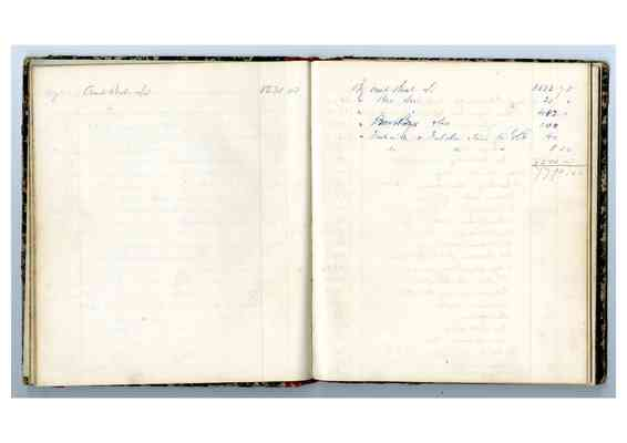 Barney's Account Book