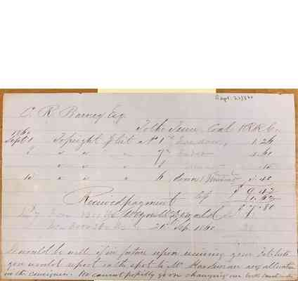 Charles Barney Papers Box 1 Document  105