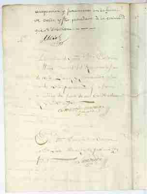 1782 petition of Margarita for the freedom of her daughter Naneta (SPANISH)