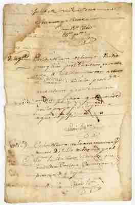 1777 petition by Carlota Castan to administer her own estate (SPANISH)