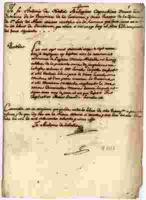 1785 Agata Juana Francisca and Maria Adelayda Lemelle petition to administer their own property (SPANISH)
