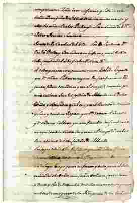 1790 petition by Turner Williams to enter Louisiana in search of Roza, Nelly, Hercules, Jean, John, Cesar, Eddy, Sarah, Roger, Judee, Betty, and Venus (SPANISH)
