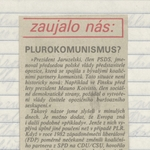 Čas Opis – September 1989