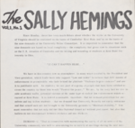 Sally Hemings Underground Newsletter