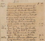 "Watson Family Papers: ""Slave Notebook"""